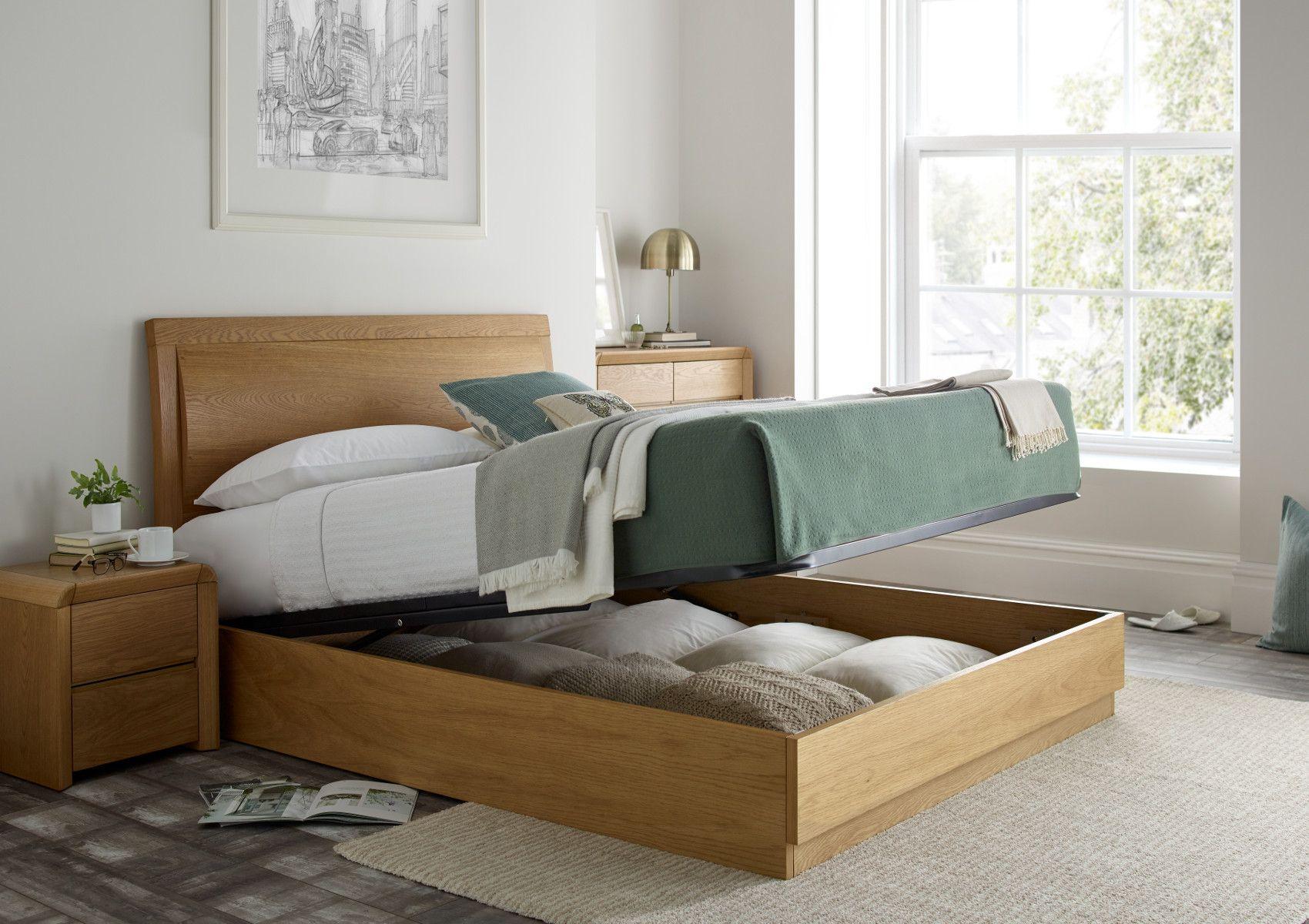 Stupendous Arran Oak Ottoman Storage Bed In 2019 Bedrooms Ottoman Beatyapartments Chair Design Images Beatyapartmentscom