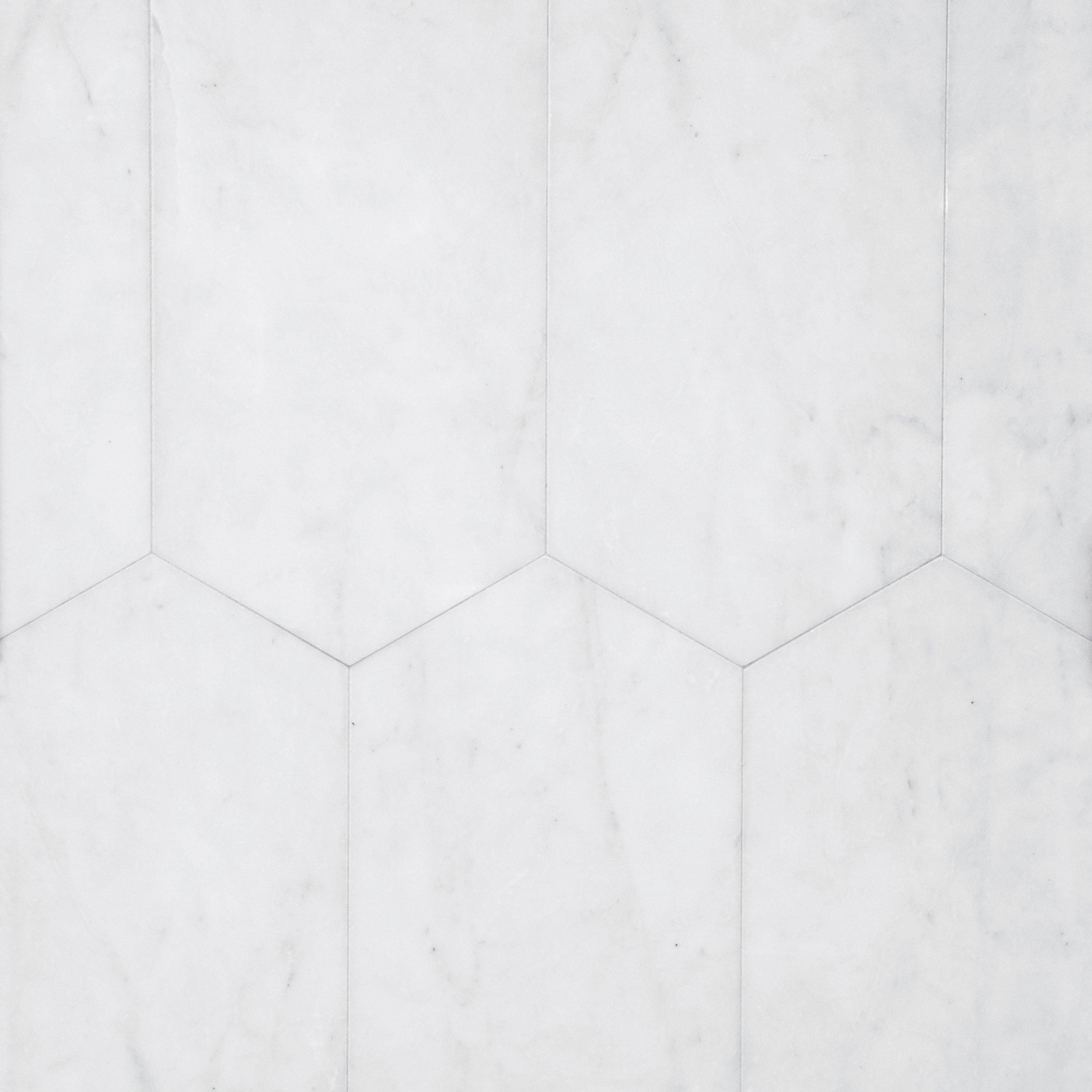 Bianco Blanco Oblong Marble Tile Marble Bathroom Floor Flooring Marble Tile Bathroom