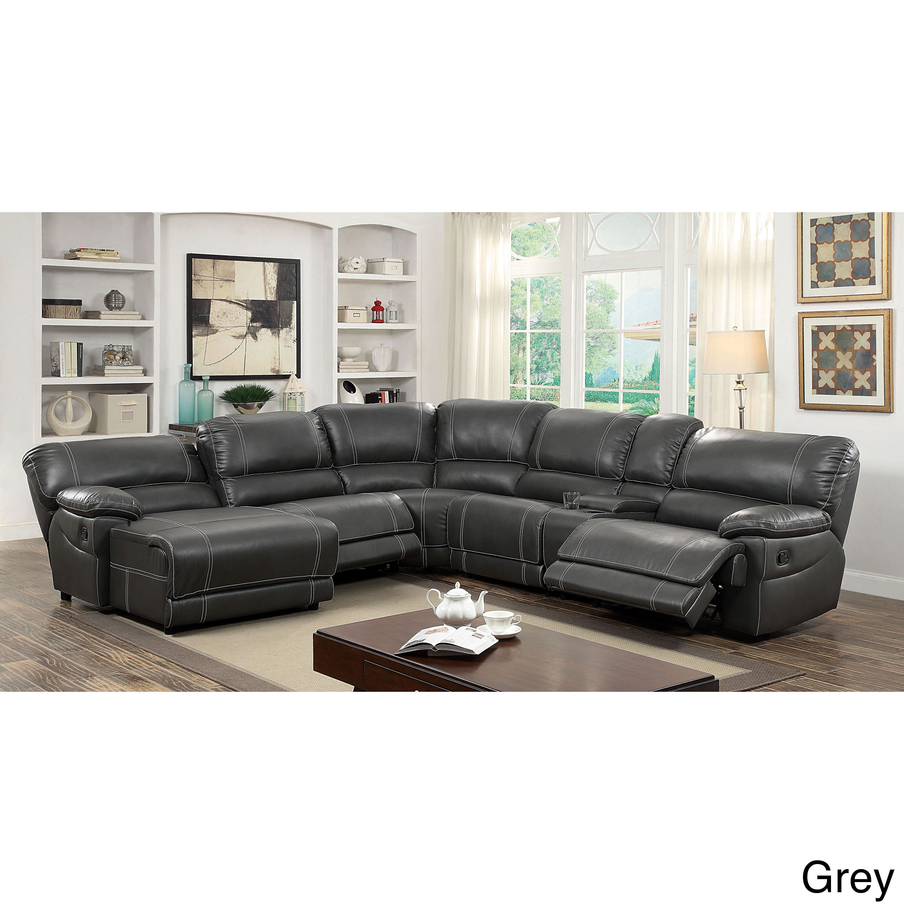 new l shaped sectional sofa in black leatherette With l shaped sectional sofa in black leatherette