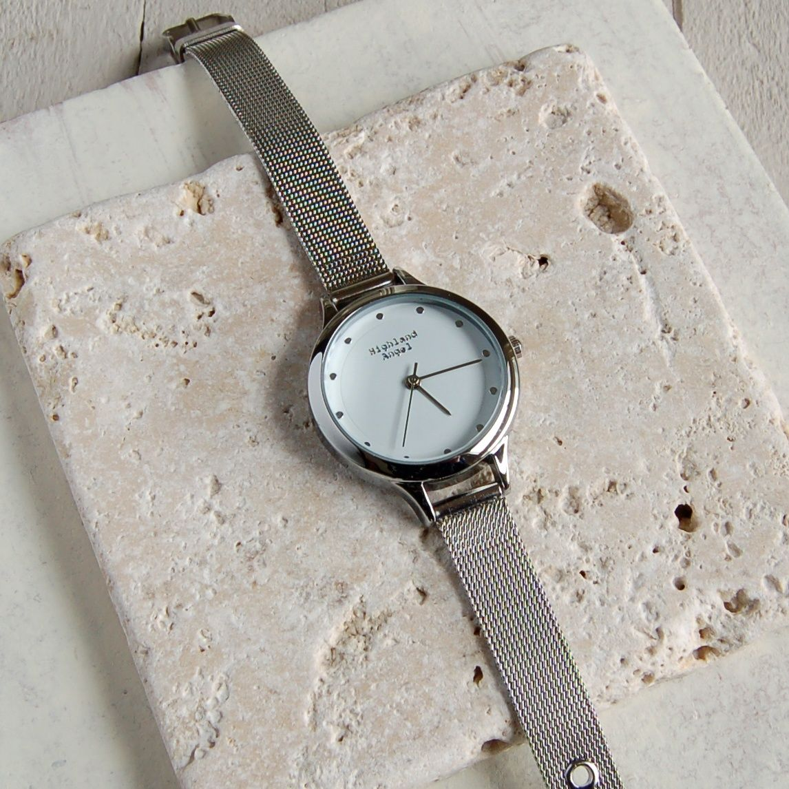 Ladies Silver Mesh Strap Watch 4800 Watches Buy Engraved