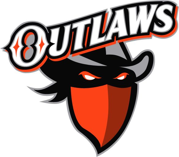 outlaw logo outlaws have new logo man cavesports