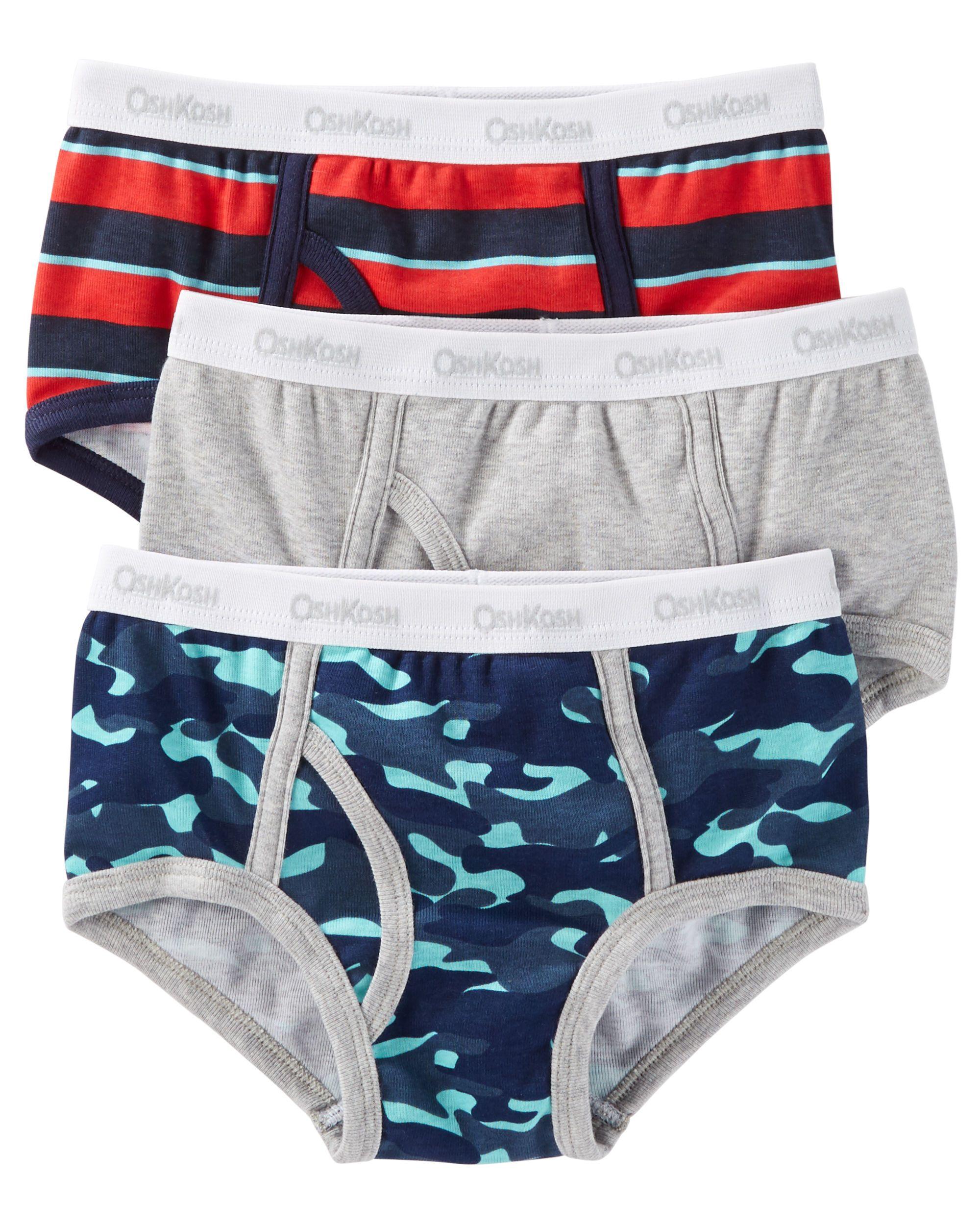 a284034f3d61 3-Pack Cotton Briefs   Baby checklist   Boys underwear, Toddler ...
