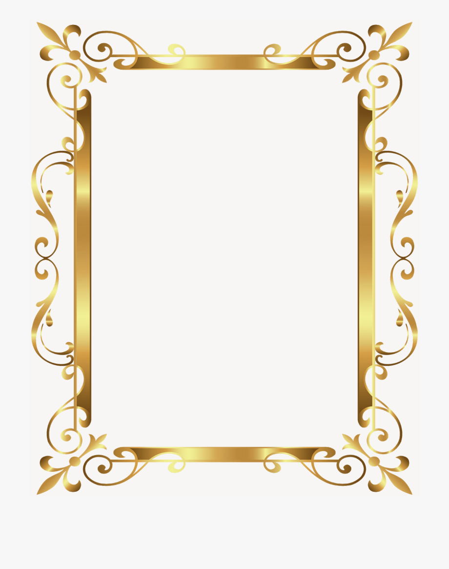 Pin By Meme Loverz On Borders And Frames Gold Frame Design