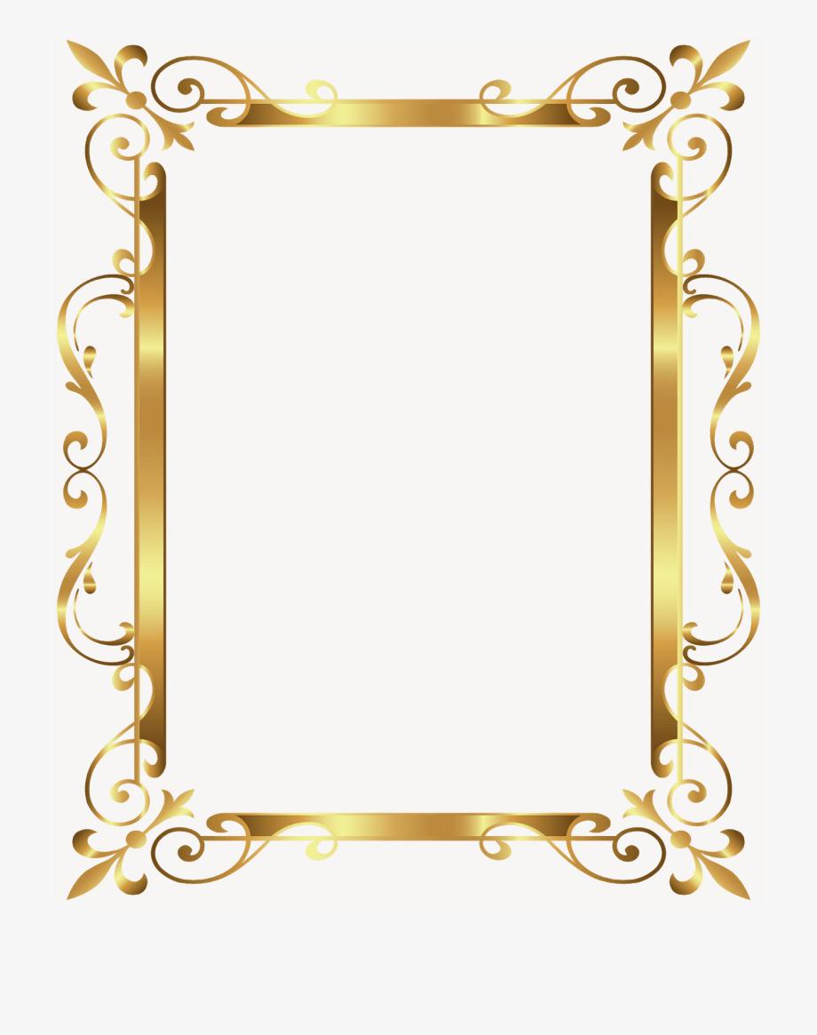 Gold Frame Design Png Frame Design Gold Frame Frames Design Graphic