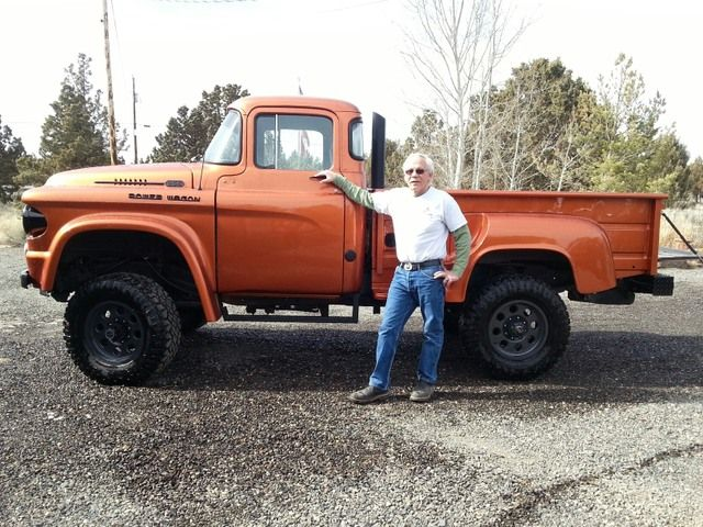 Photo 5 Of 7 Friends Pw S Old Dodge Trucks Dodge Trucks Power Wagon