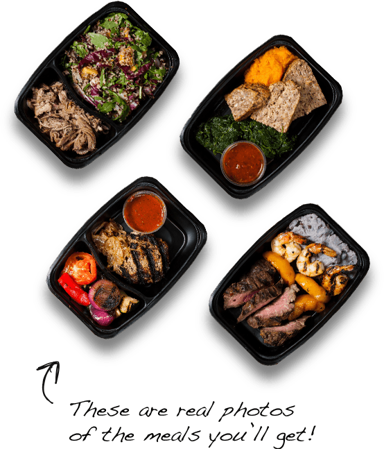 Healthy Meals Delivered to Your Home, Door, Prepared, Pre