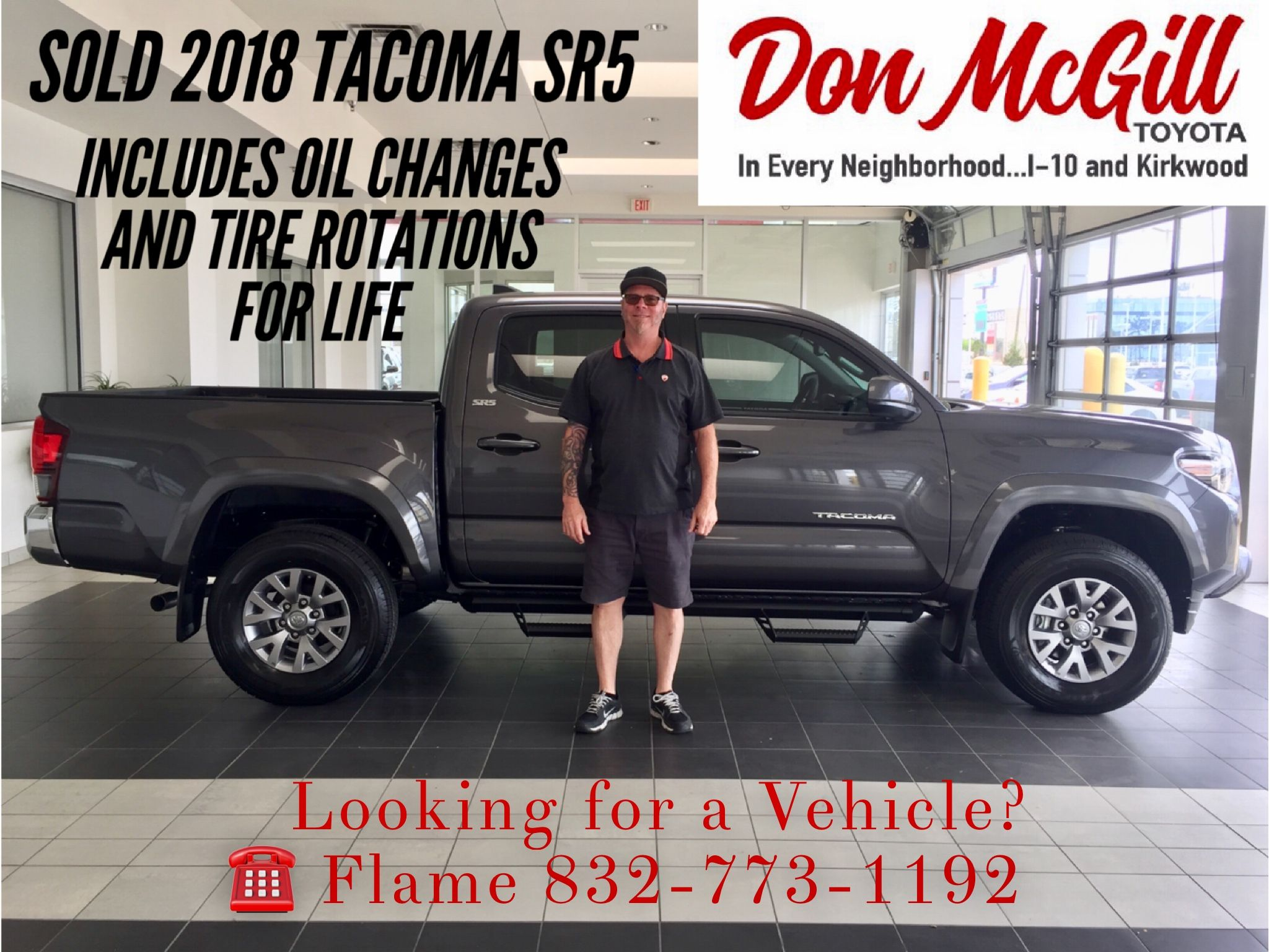 High Quality Don McGill Toyota 11800 Katy Freeway Houston, TX 77079 Call Or Text Flame @  832