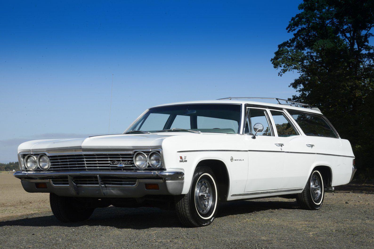 No Reserve 1966 Chevrolet Impala 396 325 Wagon Chevrolet Impala