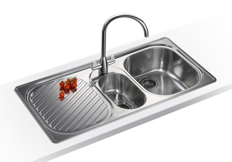 Franke Compact Nova Cnx651 1 5 Bowl Stainless Steel Kitchen Sink
