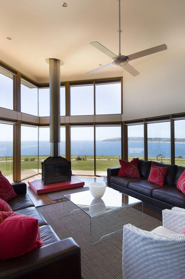 Panoramic House Plan On Australian Coast House Plans Australia Modern House Plans House Design