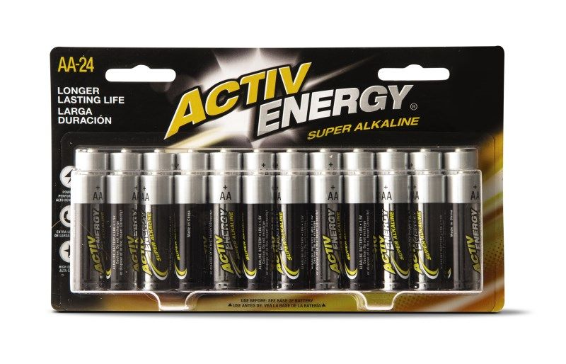 Activ Energy 24 Pack Batteries Aldi Exclusive Activ Energy 24 Pack Batteries Make The Perfect Stocking Stuffer To Keep Perfect Stocking Stuffers Energy Aldi