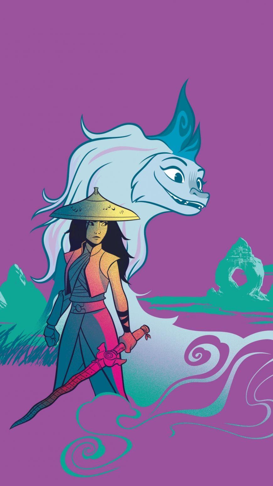 Raya and the Last Dragon HD wallpapers