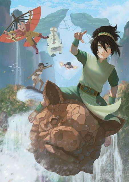 Equipo Avatar Arte Avatar Avatar Aang Personajes De Avatar