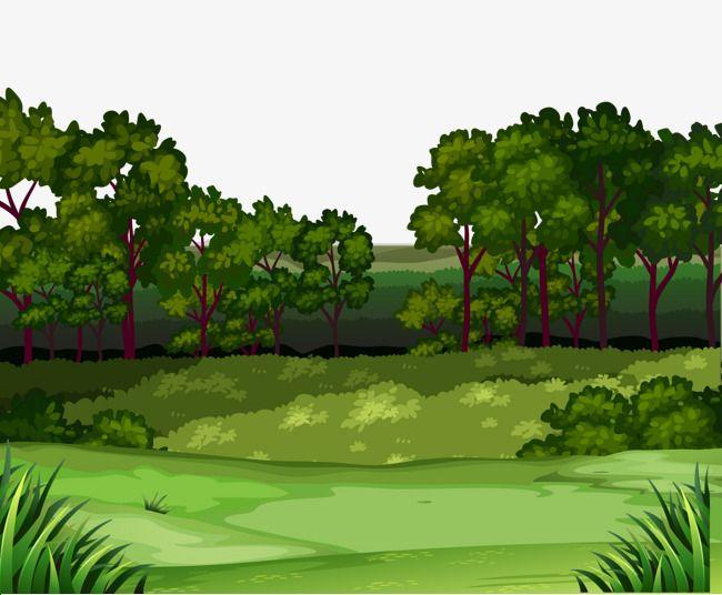 Euclidean Vector Forest Landscape Download Free Image Landscape Background Forest Landscape Forest Illustration