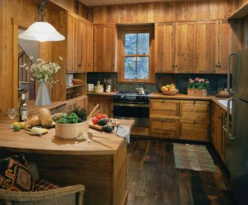 Antique American Chestnut Cabinets This Is Too Much Wood For Me