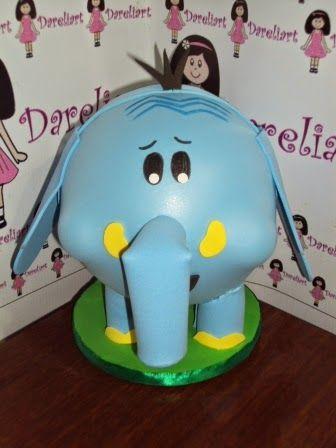 Dareliart: Elefante Golias - Turma do Meu Amigãozão - Encomen...