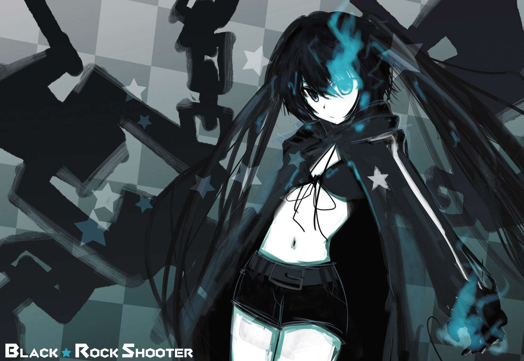 black rock shooter wallpaper 1680a—1160