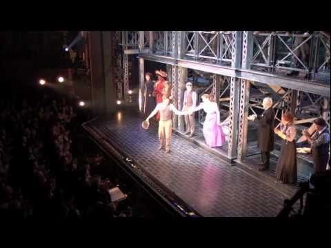 Disney S Newsies On Broadway Opening Night Curtain Call Youtube