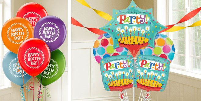 Perfect Time to Party Birthday Balloons Party City Inspiring