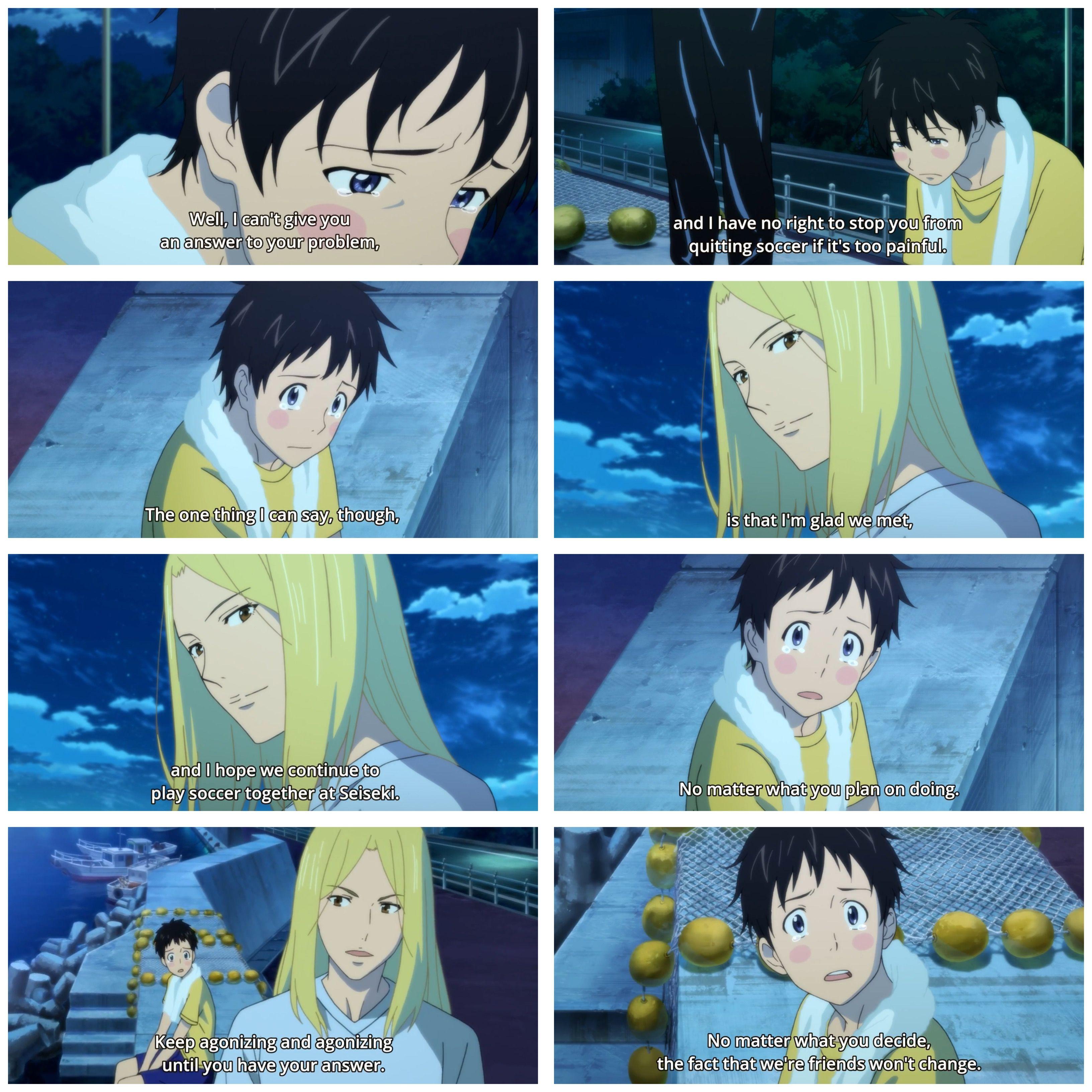 Tsukamoto Tsukushi and Kazama Jin Days (TV) soccer anime
