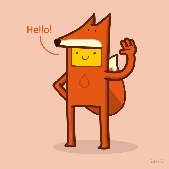 Introducing Sophia the Fox - The Roundlings #cute #drawing #postcard