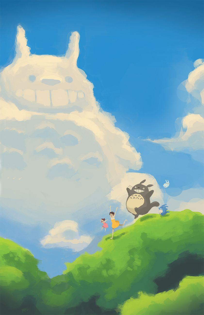 Totoro by WhyBarra