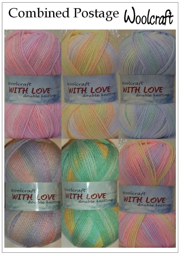 With Love Dk Double Kntting From Woolcraft Knitting Crochet Yarn