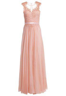 Ein beeindruckendes kleid f r eine beeindruckende frau luxuar fashion ballkleid apricot f r - Festliche kleider koralle ...