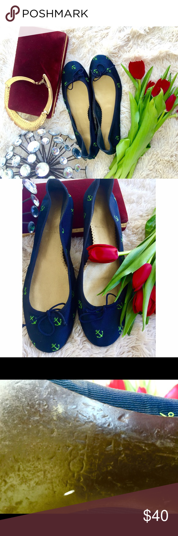 J. CREW FLATS Beautiful j crew flats in size 7.5. In great condition. J. Crew Shoes Flats & Loafers