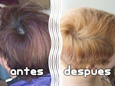 Como Hacer Una Limpieza De Color En El Cabello Shampoo