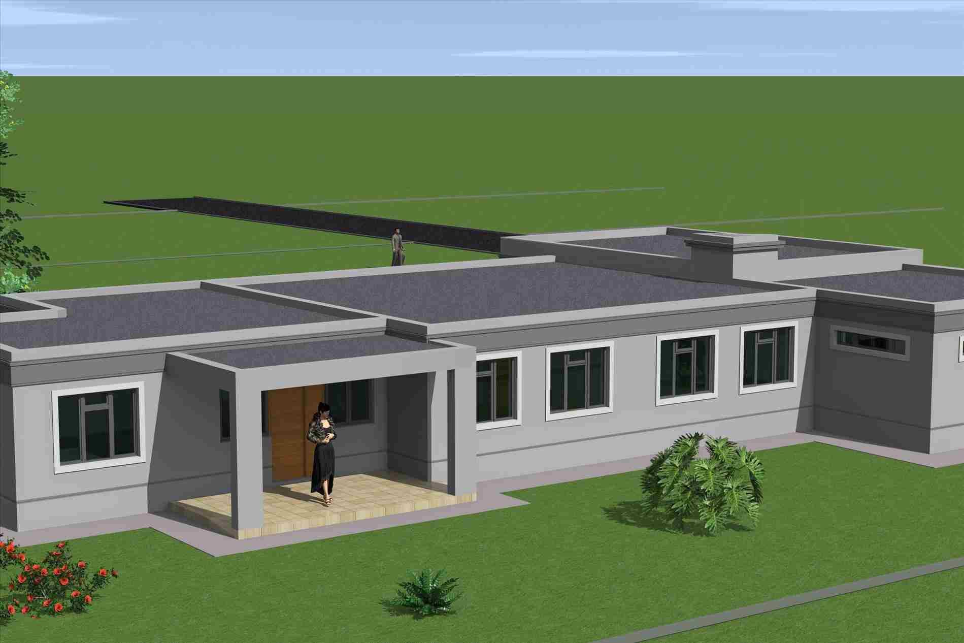 Two storey extension to the side and this flat roof house one story project involved a two storey extension to the side homedesignlatest site