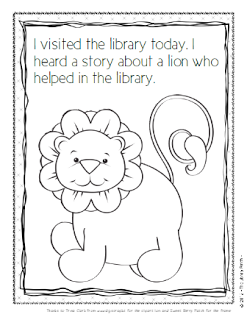 Do You Use The Library Lion In Your To Jump Start School Year Patch Has Some Great Ideas On How Make Story More Interactive