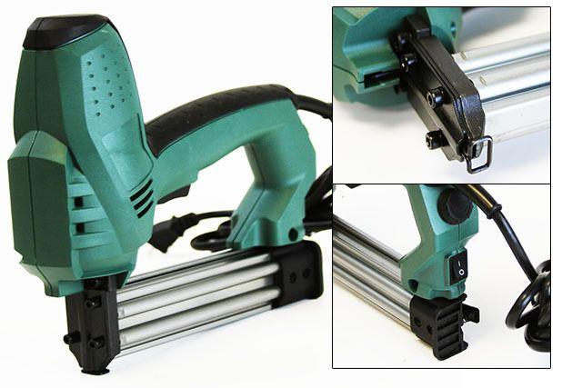 3plus H7116sp 22 Gauge 3 8 Inch Crown Pneumatic Upholstery Stapler 1 4 Inch To 5 8 Inch Amazon Com Upholstery Stapler Roofing Felt