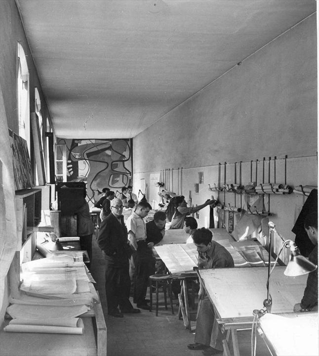 Le Corbusier's studio