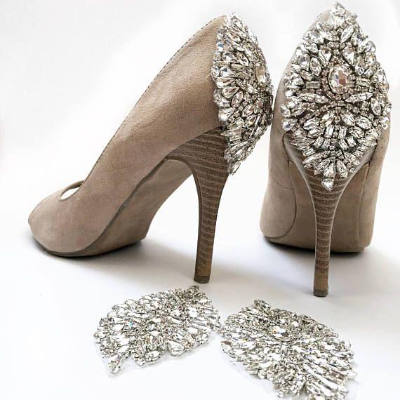 16b5e96db62b Rhinestone shoe appliques