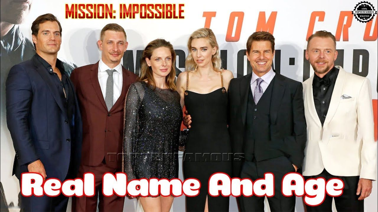 Mission Impossible All Cast Real Name And Age Mission Impossible Mission It Cast