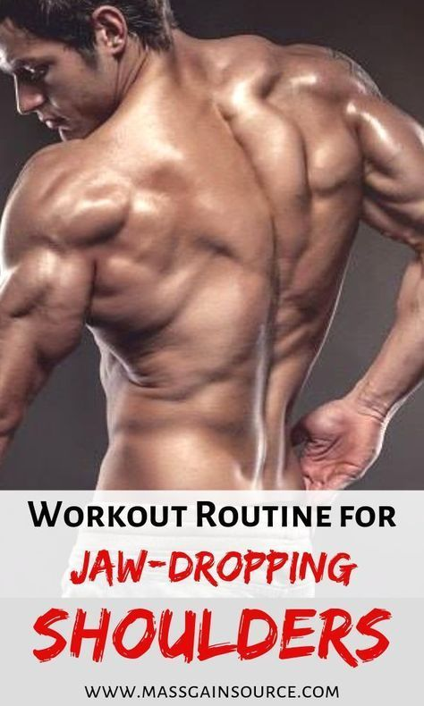 Top 10 Deltoid Workouts: Make Your Shoulders STRONGER and BIGGER