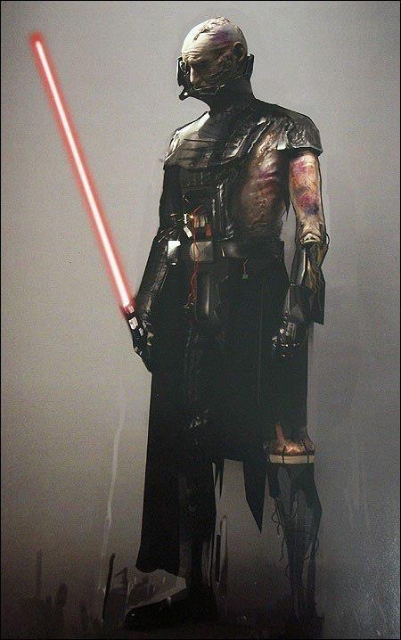 The Zen'Othian Archives — Battle-Damaged Darth Vader