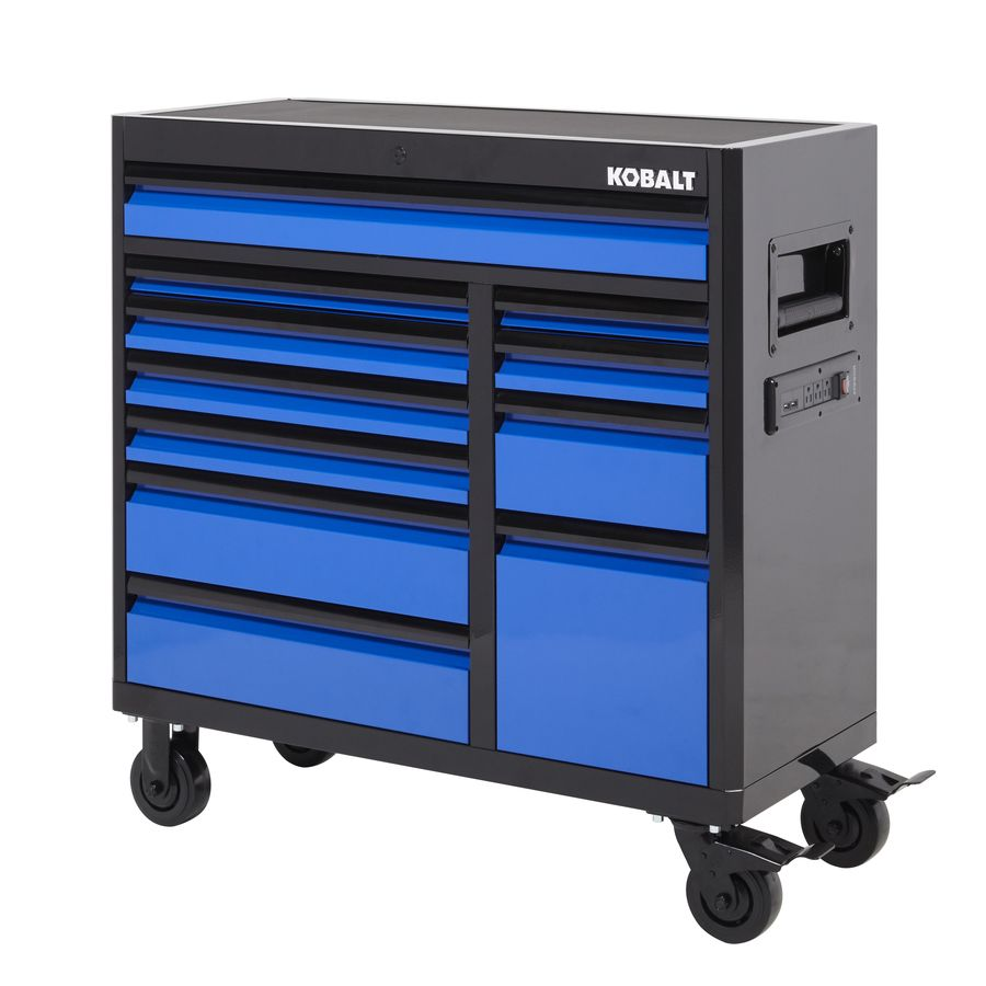 Kobalt Tool Cabinet >> Kobalt 3000 Series 41 In X 41 In 11 Drawer Ball Bearing Steel Tool