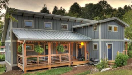 A Phd And An Architect Build A Net Zero Home Greenbuildingadvisor Zero Energy House New Homes House Plans