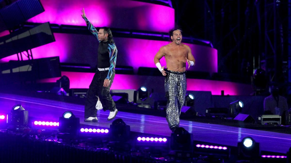Photos The Hardy Boyz make a wonderfully shocking return