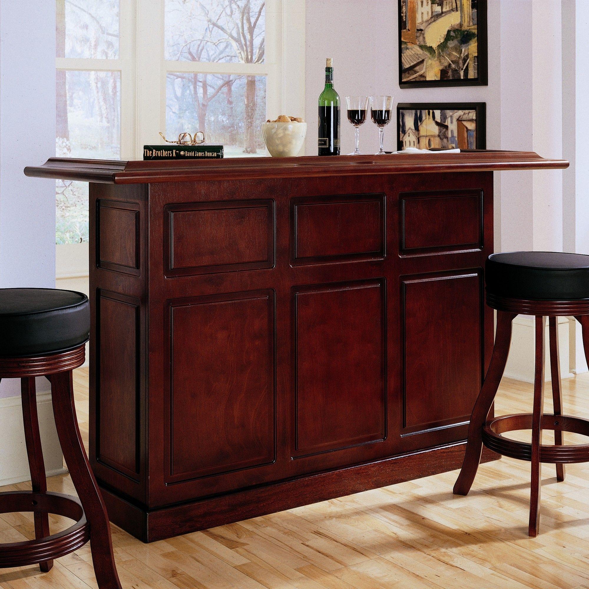 Lexington Bar With Wine Storage Bar Furniture Wine Storage Cheap Patio Furniture
