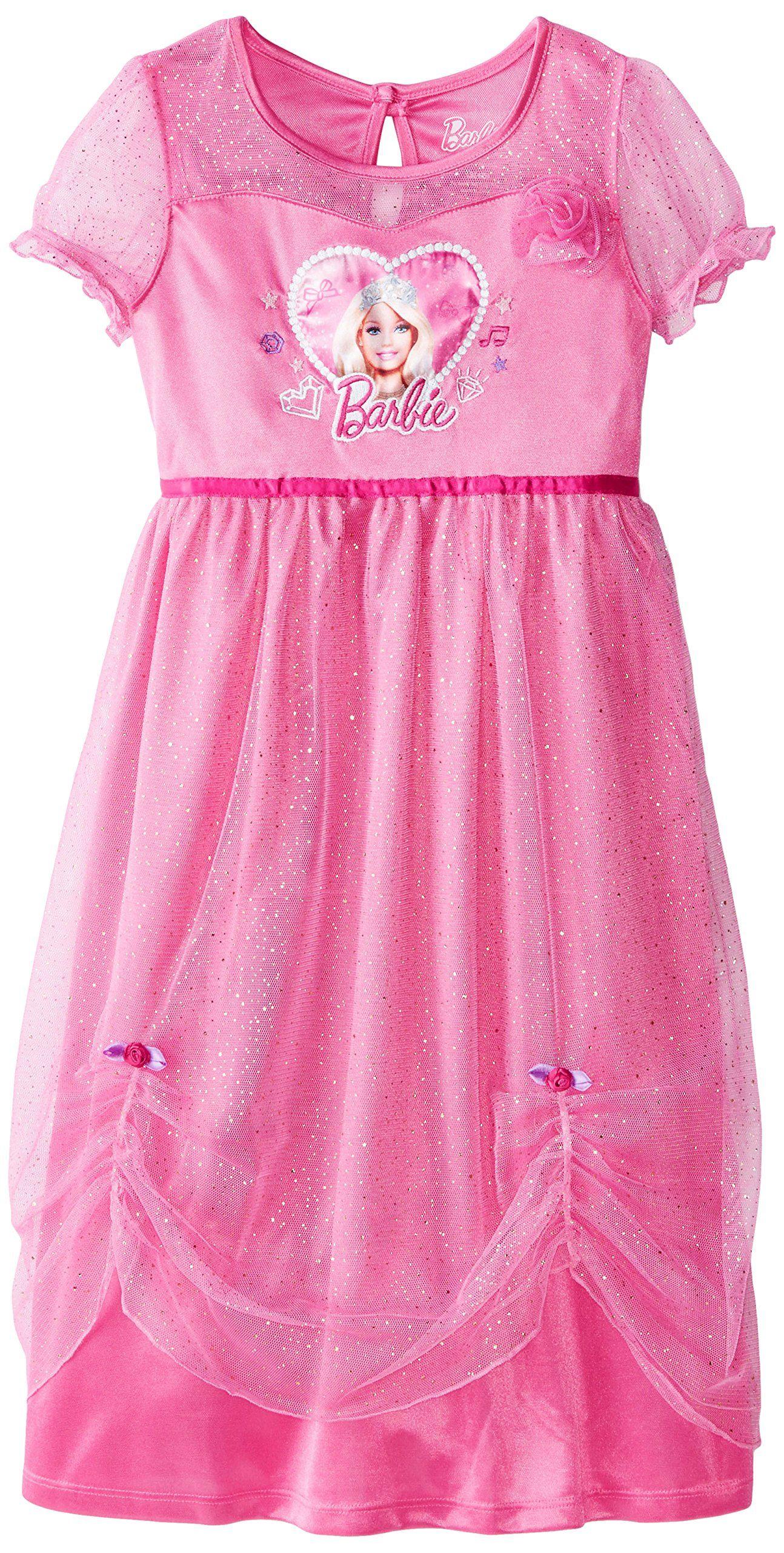 bde720d511 Barbie Big Girls  Dressy Gown