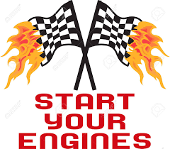 Start your engines speedometer begin race competition game ... |Start Your Engines Racers