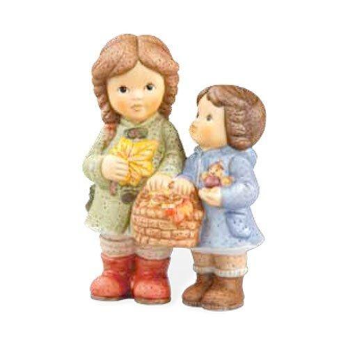 Goebel Nina und Marco im Garten Im bunten Herbst 10 cm