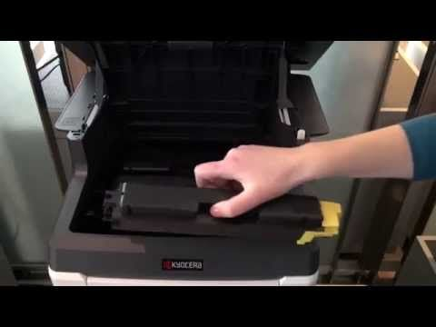 Replacing Toner: ECOSYS M6526cidn / M6026cidn / M6526cdn | How To