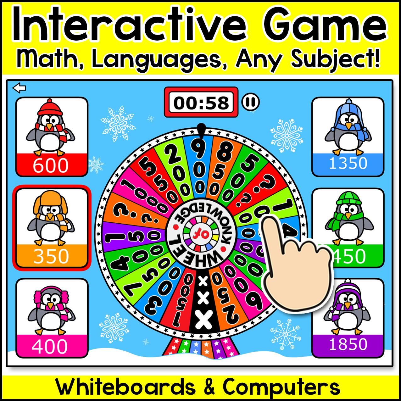 Review any subject with this fun and engaging Winter