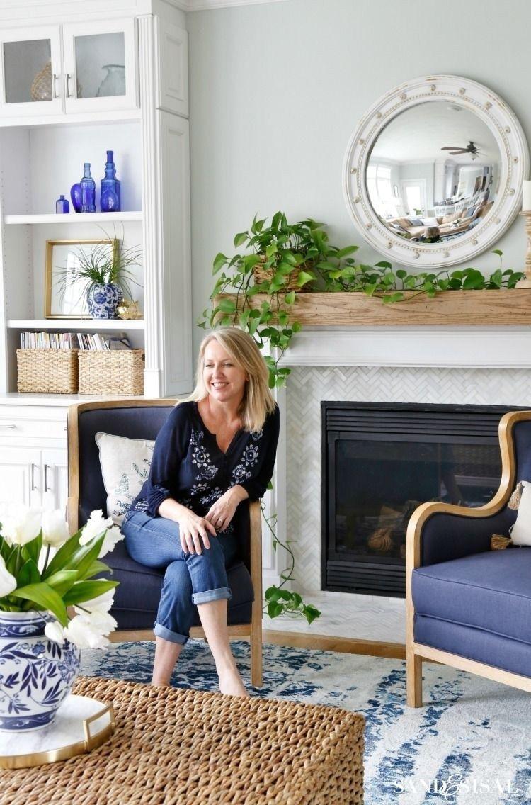40 Cute Coastal Living Room Decorating Ideas #coastallivingrooms