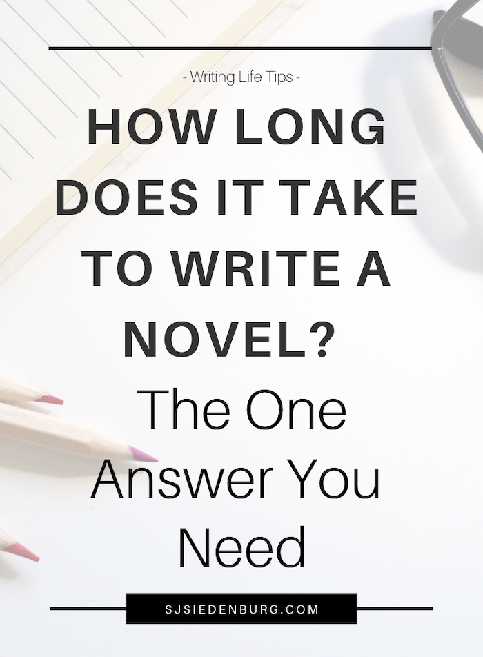 How Long Does it Take to Write a Novel? Your Answer
