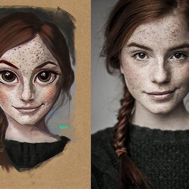 Old portrait study #2014  #mz09 #portrait #juliocesarart #illustration #drawing #art